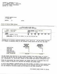 Exhibit J Propertytax Record Cards Williamson County-illinois Il Property Tax Fraud 0240