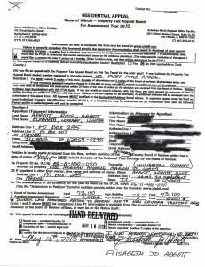 Exhibit J Propertytax Record Cards Williamson County-illinois Il Property Tax Fraud 0241