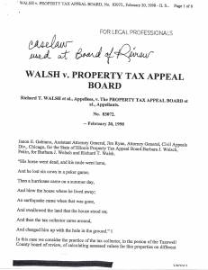 Exhibit J Propertytax Record Cards Williamson County-illinois Il Property Tax Fraud 0245