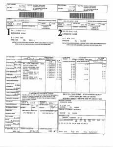Exhibit J Propertytax Record Cards Williamson County-illinois Il Property Tax Fraud 0256