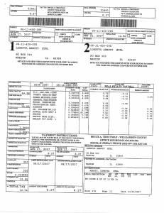 Exhibit J Propertytax Record Cards Williamson County-illinois Il Property Tax Fraud 0259