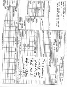 Exhibit J Propertytax Record Cards Williamson County-illinois Il Property Tax Fraud 0267