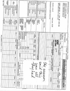 Exhibit J Propertytax Record Cards Williamson County-illinois Il Property Tax Fraud 0268