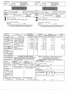 Exhibit L Property Tax Record Cards Williamson County-illinois Il Property Tax Fraud 0386