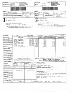 Exhibit L Property Tax Record Cards Williamson County-illinois Il Property Tax Fraud 0390