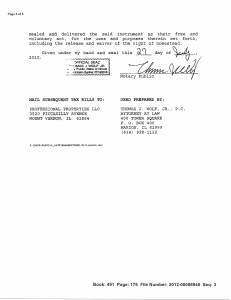 Exhibit M Property Tax Record Cards Williamson County-illinois Il Property Tax Fraud 0402
