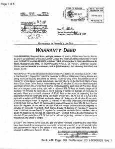 Exhibit M Property Tax Record Cards Williamson County-illinois Il Property Tax Fraud 0405