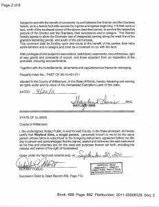 Exhibit M Property Tax Record Cards Williamson County-illinois Il Property Tax Fraud 0406