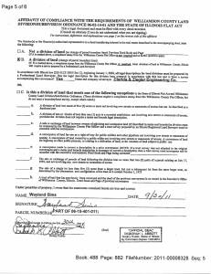Exhibit M Property Tax Record Cards Williamson County-illinois Il Property Tax Fraud 0409
