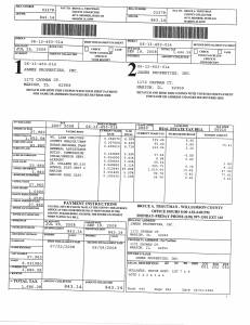 Exhibit S Property Tax Record Cards Williamson County-illinois Il Property Tax Fraud 0139