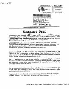 Exhibit U Property Tax Record Cards Williamson County-illinois Il Property Tax Fraud 0009
