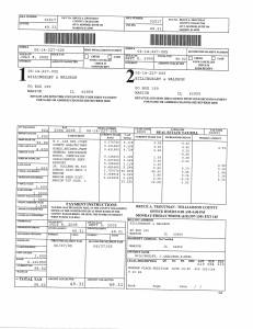 Exhibit U Property Tax Record Cards Williamson County-illinois Il Property Tax Fraud 0041