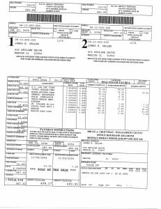 Exhibit U Property Tax Record Cards Williamson County-illinois Il Property Tax Fraud 0512