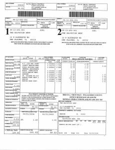 Exhibit U Property Tax Record Cards Williamson County-illinois Il Property Tax Fraud 0518