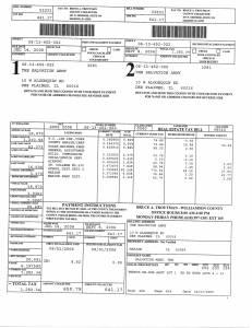 Exhibit U Property Tax Record Cards Williamson County-illinois Il Property Tax Fraud 0526