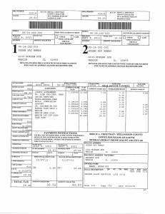 Exhibit V Property Tax Record Cards Williamson County-illinois Il Property Tax Fraud 0221