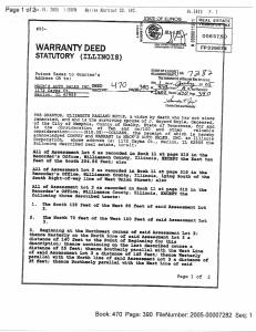 Exhibit X Property Tax Record Cards Williamson County-illinois Il Property Tax Fraud 0265