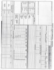 Exhibit X Property Tax Record Cards Williamson County-illinois Il Property Tax Fraud 0282