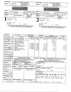 Exhibit Y Property Tax Record Cards Williamson County-illinois Il Property Tax Fraud 0297