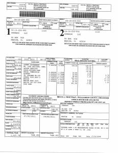Exhibit Y Property Tax Record Cards Williamson County-illinois Il Property Tax Fraud 0298