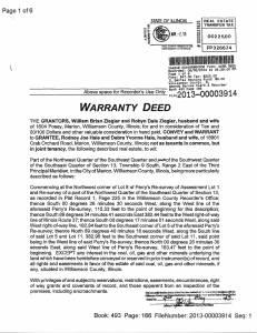 Exhibit Z Tax-Bills Tax Record Cards Williamson County-illinois Il Property Tax Fraud 0313