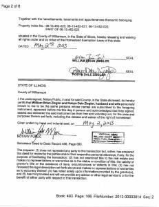 Exhibit Z Tax-Bills Tax Record Cards Williamson County-illinois Il Property Tax Fraud 0314